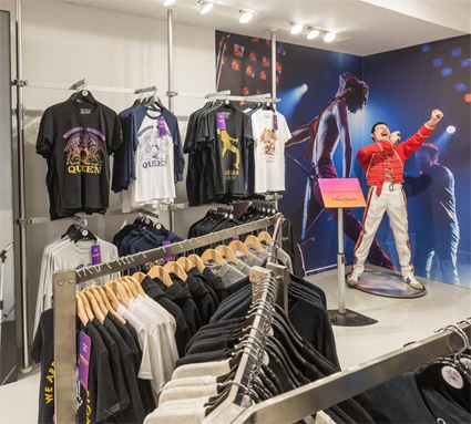 Queen s Bohemian Rhapsody Pop Up Shop   Exhibition by Bravado Lights Up  Carnaby Street ba82b48bba9